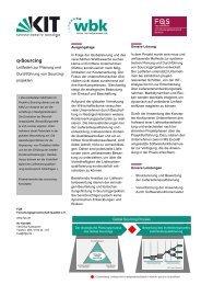 Produktblatt in dt. und engl. - DGQ