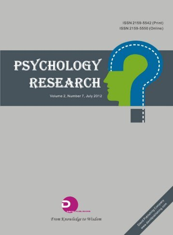 Psychology Research - IFL