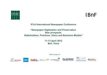 The Benefits of Digitization - IFLA