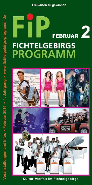 Fichtelgebirgs-Programm - Februar 2014
