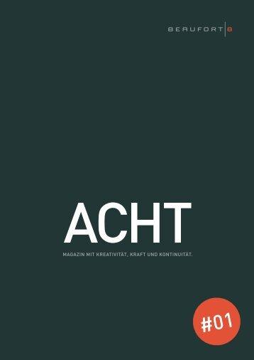 ACHT Nr.1 - BEAUFORT 8 Werbeagentur Stuttgart
