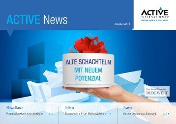 Alte Schachteln mit neuem Potenzial - Active International