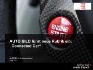 Connected Car - Axel Springer MediaPilot