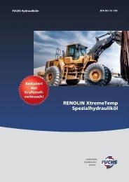 RENOLIN XtremeTemp Spezialhydrauliköl - fuchs europe ...