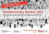 Kundenmonitor Banken - YouGov