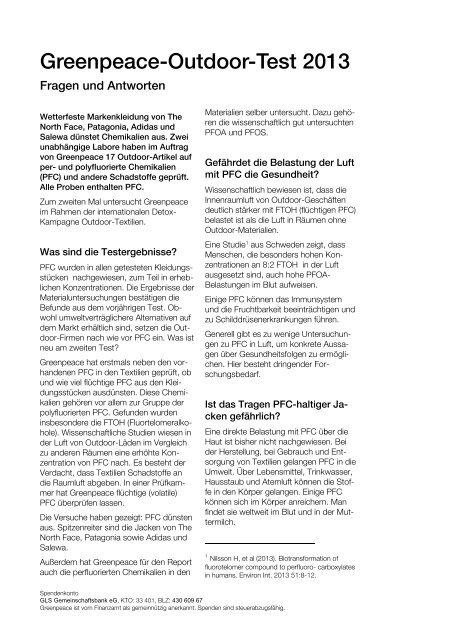 PDF Fragen und Antworten - Greenpeace