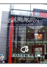 Steilmann-Boecker Fashion Point GmbH & Co. KG ...