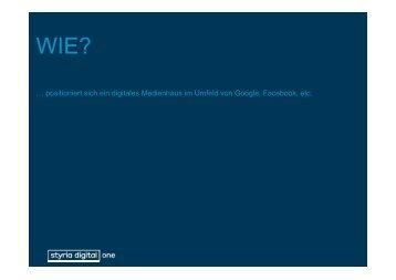 Maresa Wolkenstein, Styria Digital One - FH St. Pölten