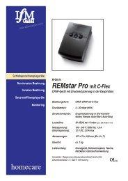 402-306_Prospekt - ST - Respironics-RemStar-Pro M ... - IfM GmbH