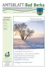 Ausgabe 12/2013 - Kurstadt Bad Berka