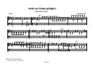 Verleih uns Frieden gnädiglich - Bodensee-Musikversand