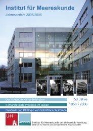 Institut für Meereskunde - University of Hamburg - ZMAW