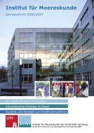 IfM 2007.indd - Institute of Oceanography, University of Hamburg ...