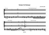 Fantasie I für Kleinorgel - Bodensee-Musikversand