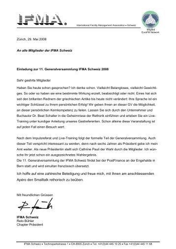 IFMA Deutschland c/o ABS Consult System GmbH ... - IFMA Schweiz
