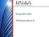 Portrait 2013-2014 - IFMA Schweiz