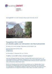 Weitere Informationen - IFMA Schweiz