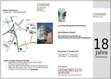 CONSENS CONSENS - IFMA Schweiz