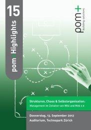 Programm und Anmeldung - IFMA Schweiz