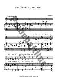 Gelobet seist du, Jesu Christ - Bodensee-Musikversand