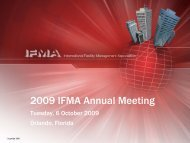 2009 IFMA Annual Meeting