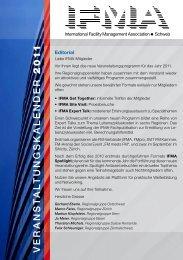 Download Veranstaltungsprogramm - IFMA Schweiz