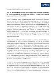 Kauf und Verkauf mittelständischer Unternehmen - IfMOS ...