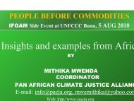 Mithika Mwenda - ifoam