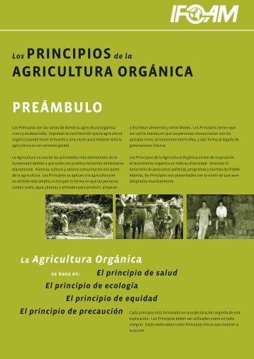 Principios de la Agricultura Orgánica - ifoam