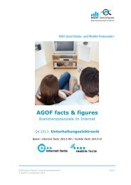 Q4-2013 AGOF Facts Figures Uelektronik