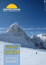 für den Download des PDFs klicken - Bergsport Schwanda Wien