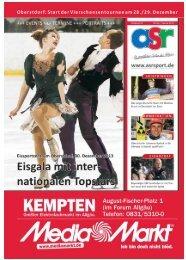 ASR Sport Ausgabe Winter 2013 - Allgäu Sport Report
