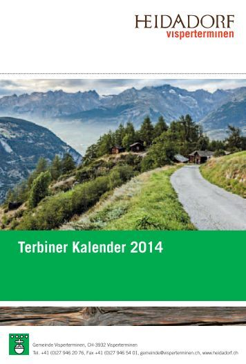 Terbiner Kalender 2014 - Heidadorf