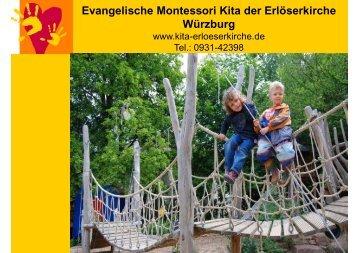 Evangelische Montessori Kita der Erlöserkirche Würzburg - IFP