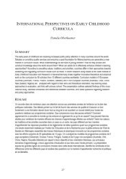 international perspectives on early childhood curricula - uri=ifp-bayern