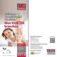 KITA-Kongress der Consozial - IFP - Bayern
