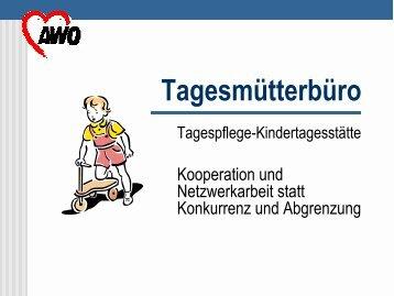 Tagespflege - Kindertageseinrichtungen - IFP