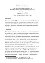 Wikipedia and Public Opinion Paper for the 60th Annual Conference ...