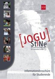 Informationsbroschüre für Studierende