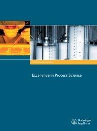 Excellence in Process Science - Boehringer Ingelheim