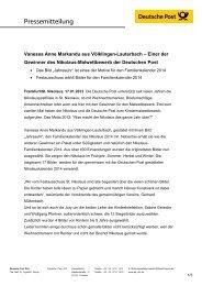 Vanessa Anne Markandu aus Völklingen ... - Deutsche Post