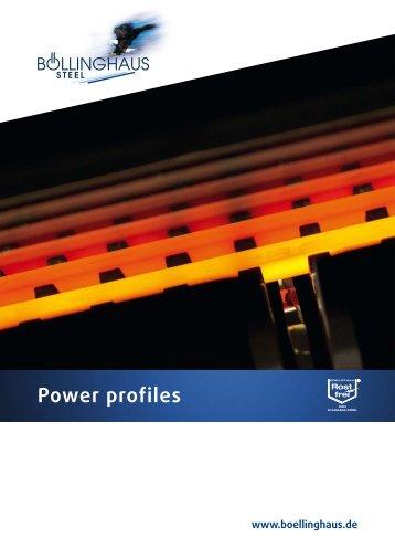 Power profiles - Böllinghaus Steel