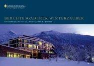 Winter 2013/2014 - InterContinental Berchtesgaden Resort