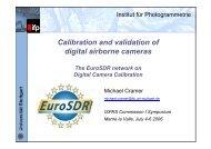 Presentation slides - Institut für Photogrammetrie - Universität Stuttgart