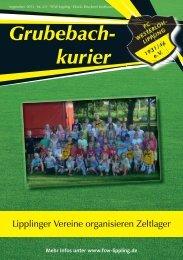 Grubebachkurier Nr. 211 - FC Westerloh-Lippling