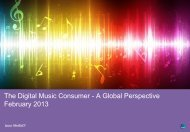 The Digital Music Consumer - A Global Perspective February ... - IFPI