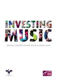 Investing in Music - IFPI