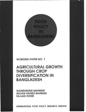 Print WP no. 7 - International Food Policy Research Institute