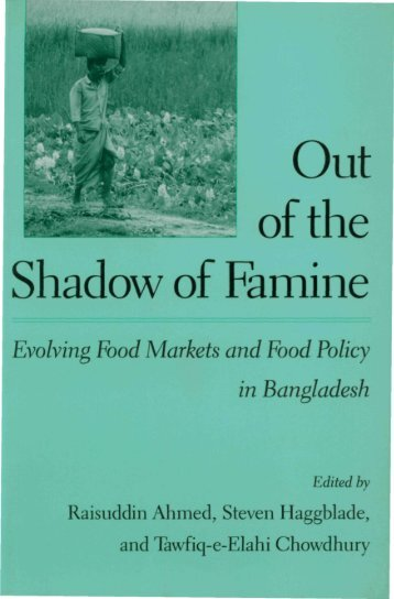 i of the Shadow of Famine - International Food Policy Research ...
