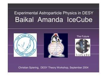 Amanda-II (2000) - DESY Library